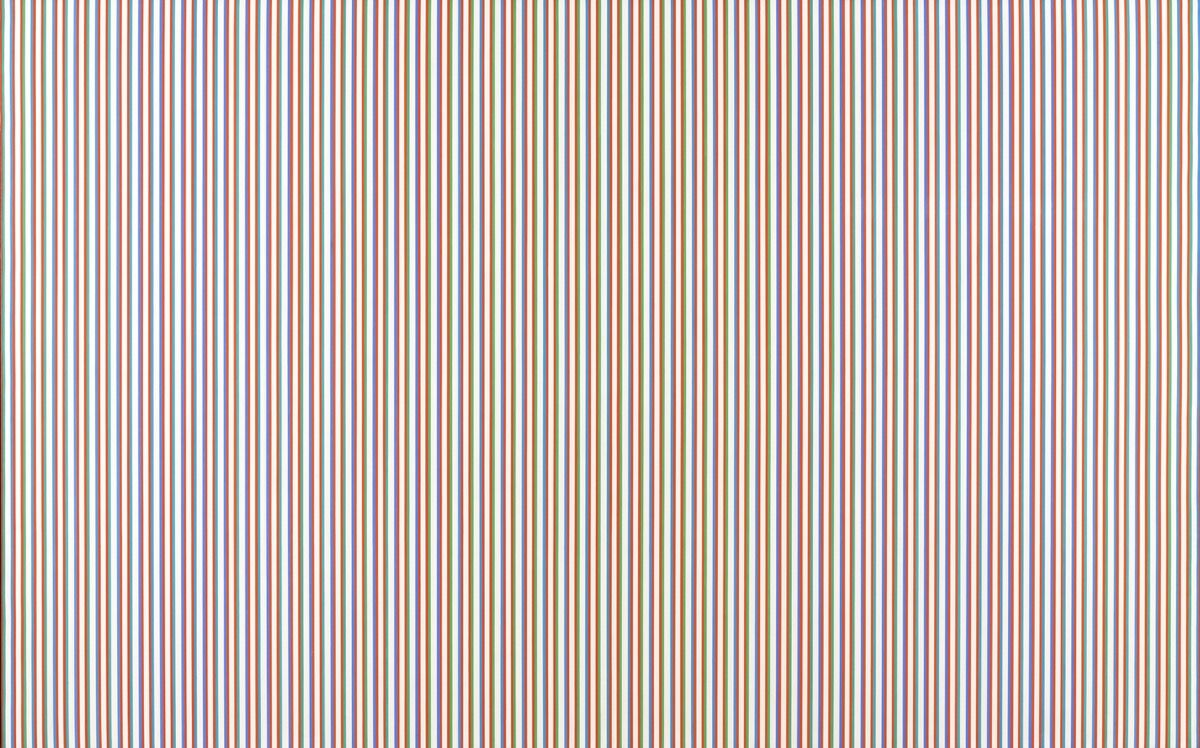Bridget Riley, Late Morning, 1967-8. © Bridget Riley 2018. Courtesy of Tate Liverpool.