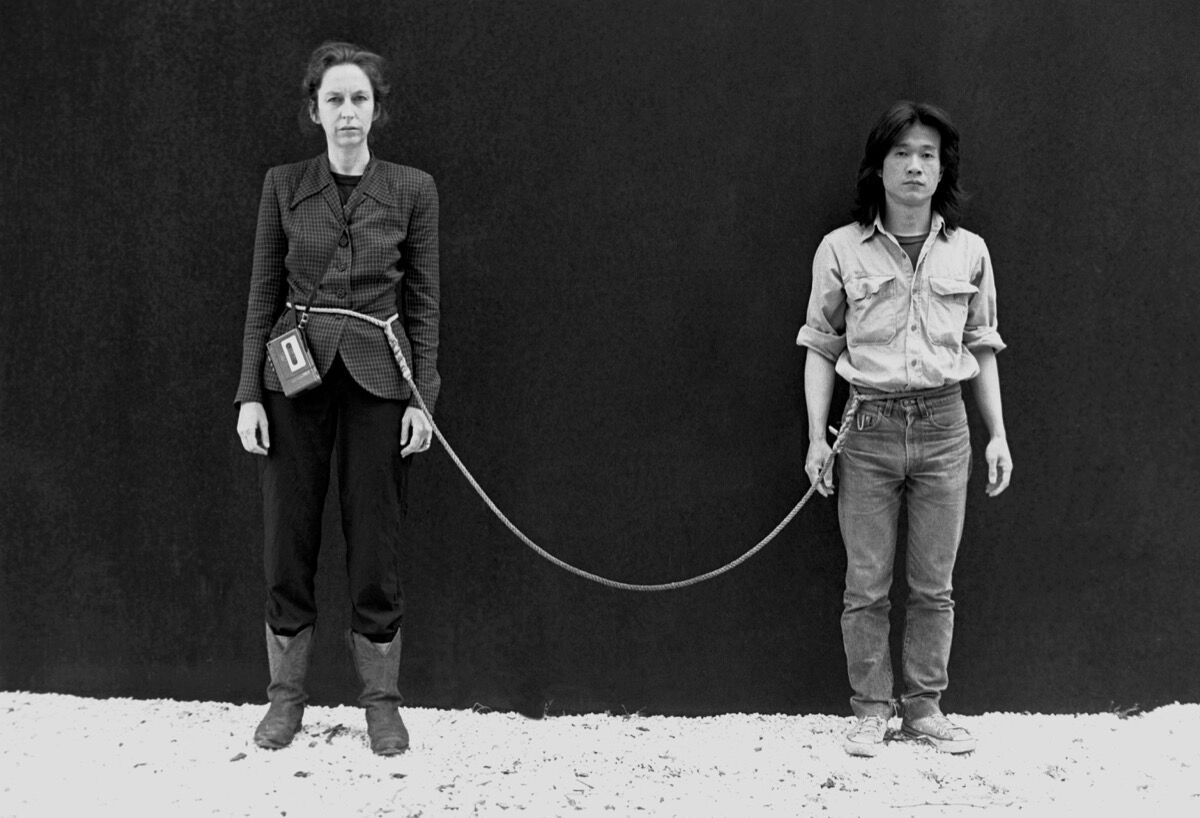 Tehching Hsieh, Art/Life One Year Performance 1983-1984, New York. © 1984 Tehching Hsieh, Linda Montano. Courtesy of the artists and Sean Kelly, New York.