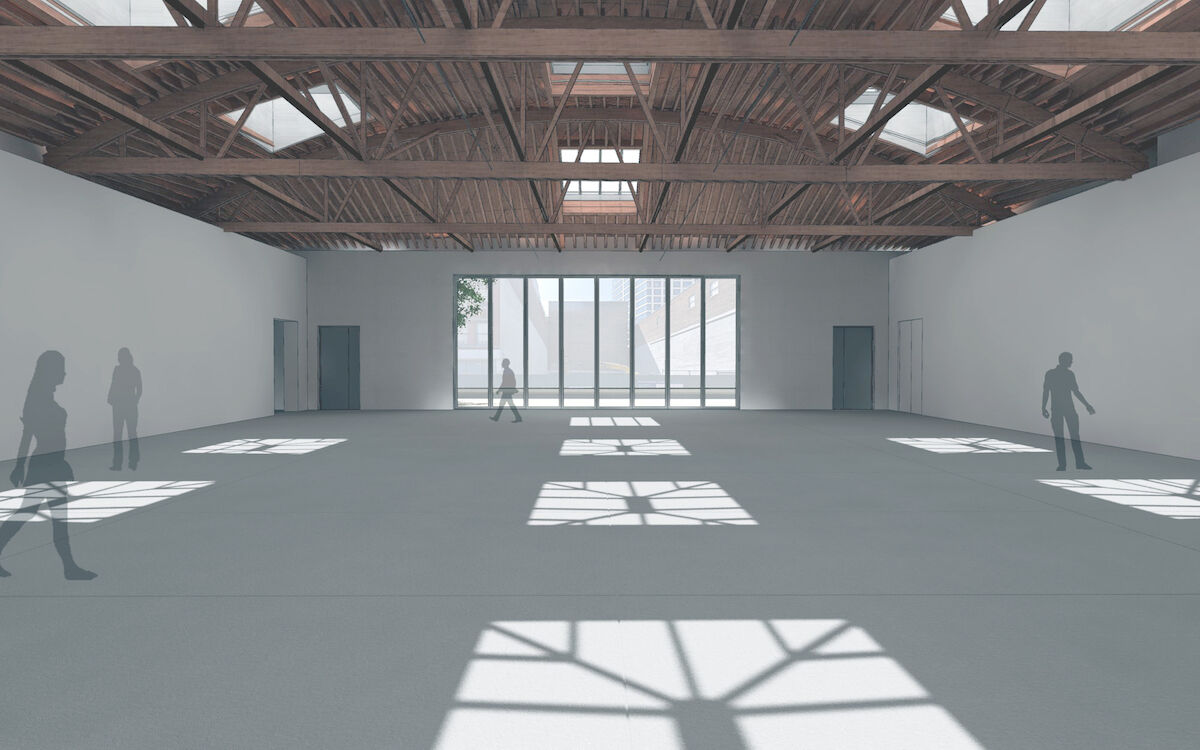 Dia:Chelsea, interior view, New York City. Courtesy Architecture Research Office / Dia Art Foundation.