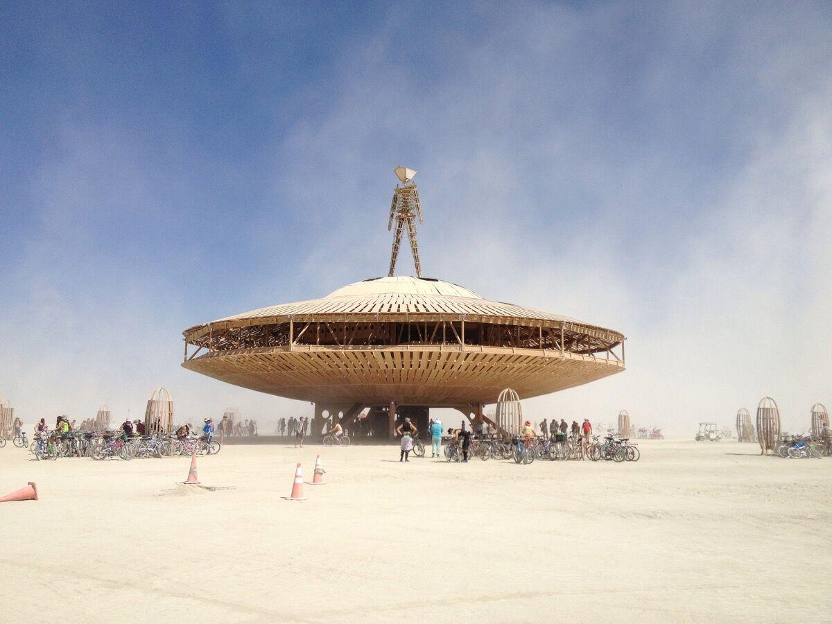 Burning Man, 2013. Photo byBexx Brown-Spinelli, via Flickr.