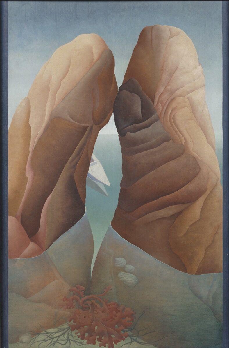 Ithell Colquhoun, Scylla, 1938 . © Samaritans, © Noise Abatement Society & © Spire Healthcare. Courtesy of the Tate.