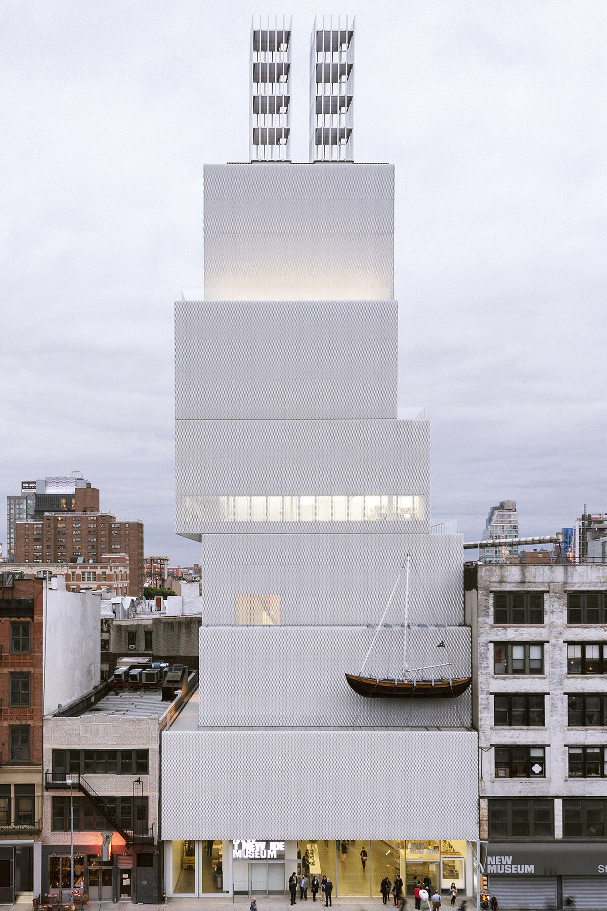 The New Museum, New York. Image courtesy of the New Museum.