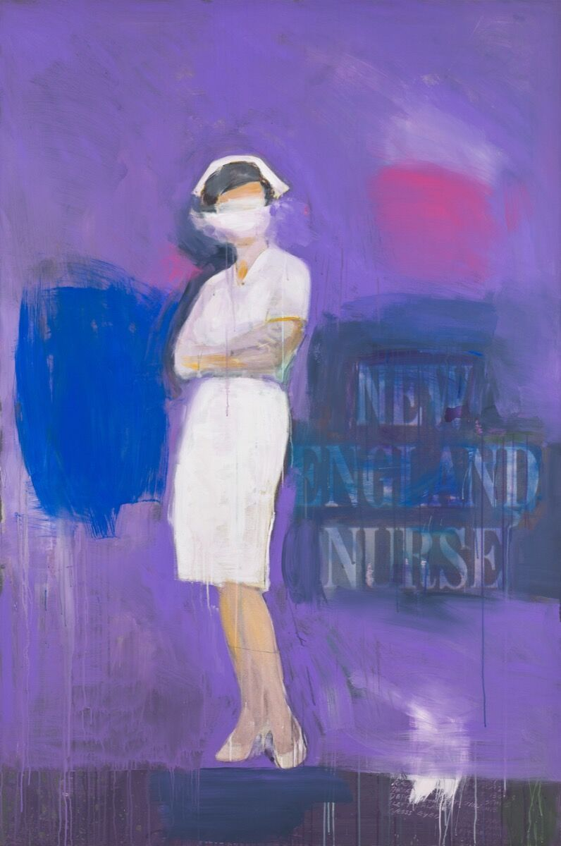 Richard Prince, New England Nurse, 2002. © Richard Prince. Courtesy of the Rubell Museum.