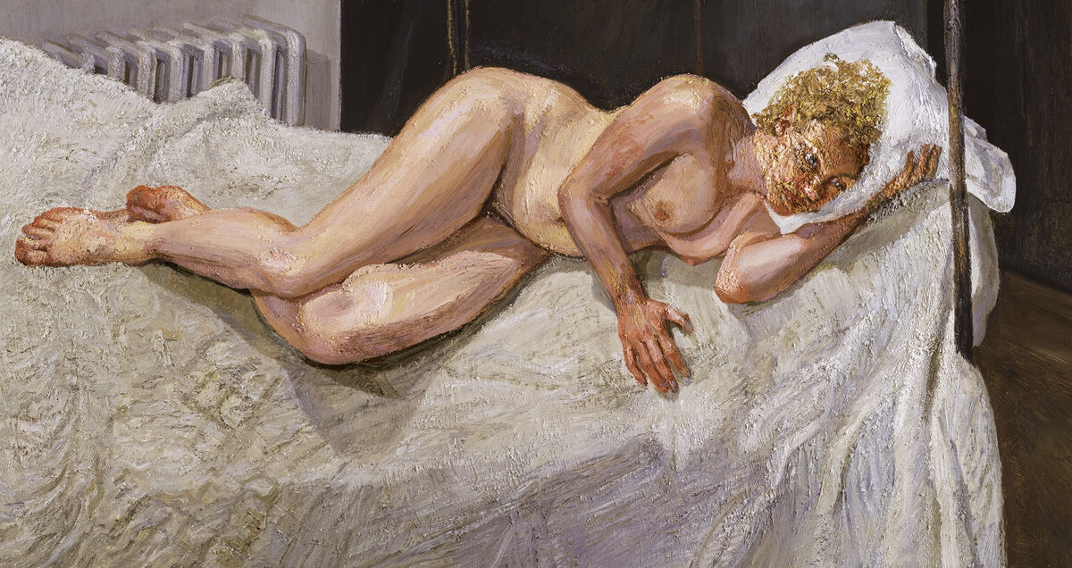 Lucian Freud, Ria, Naked Portrait, 2006–07. Courtesy of Acquavella Galleries.