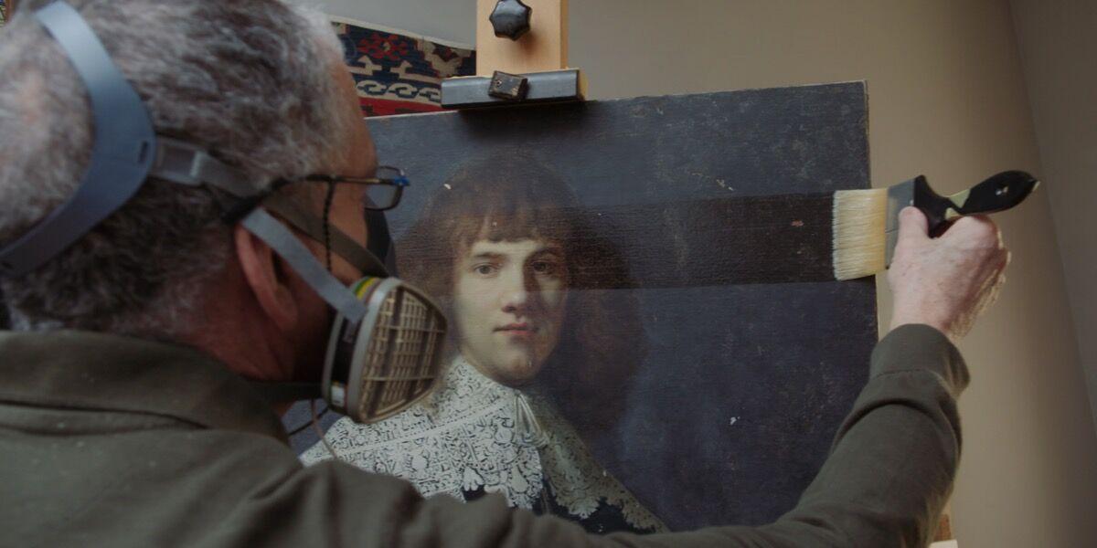 Film still from  My Rembrandt , 2019. © Discours Film.