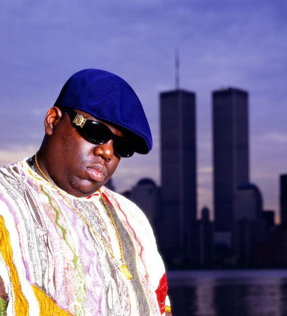 Chi Modu, Biggie WTC, NYC, 1996. Image courtesy of the artist.