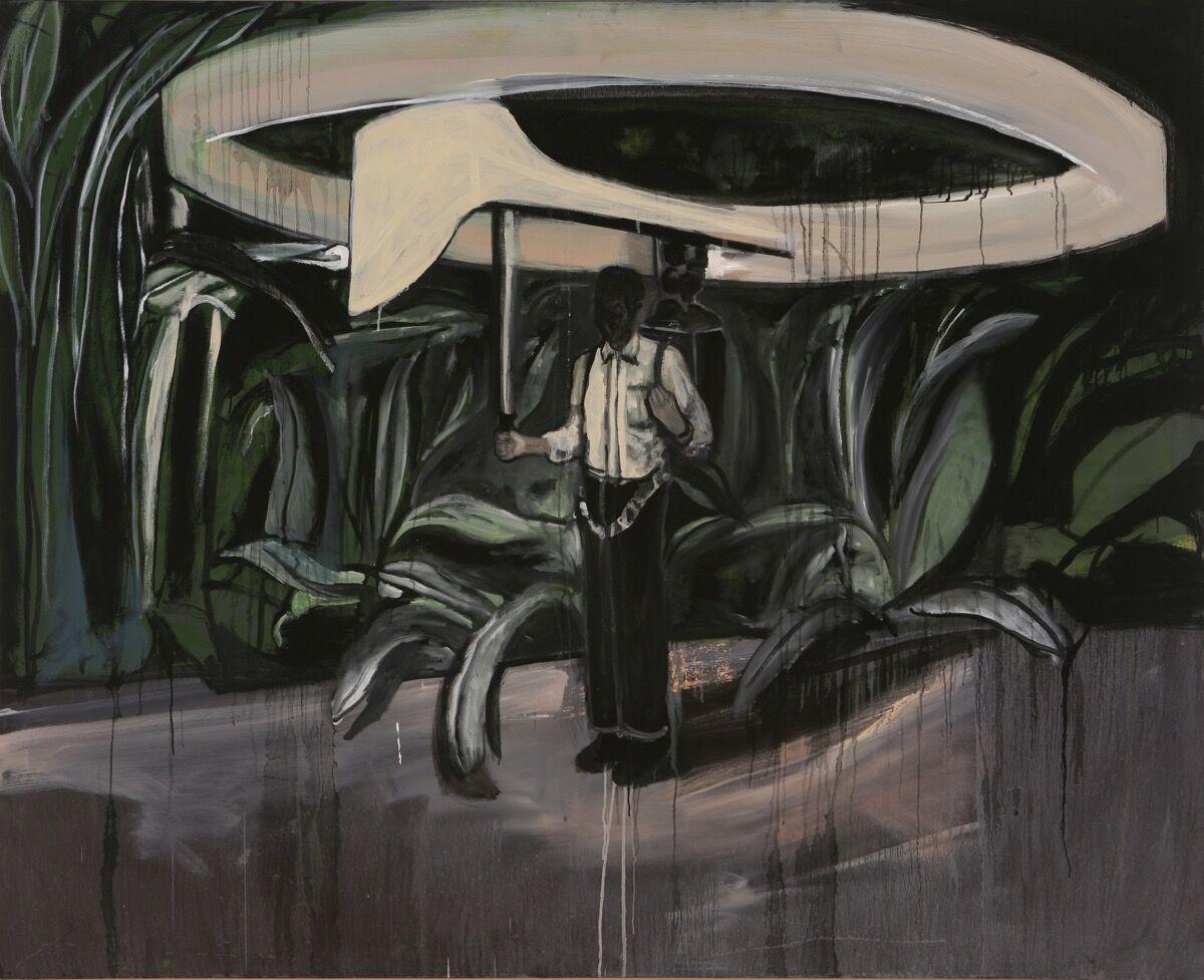 Noah Davis, The Future's Future, 2010. Courtesy of Roberts Projects, Los Angeles, California.