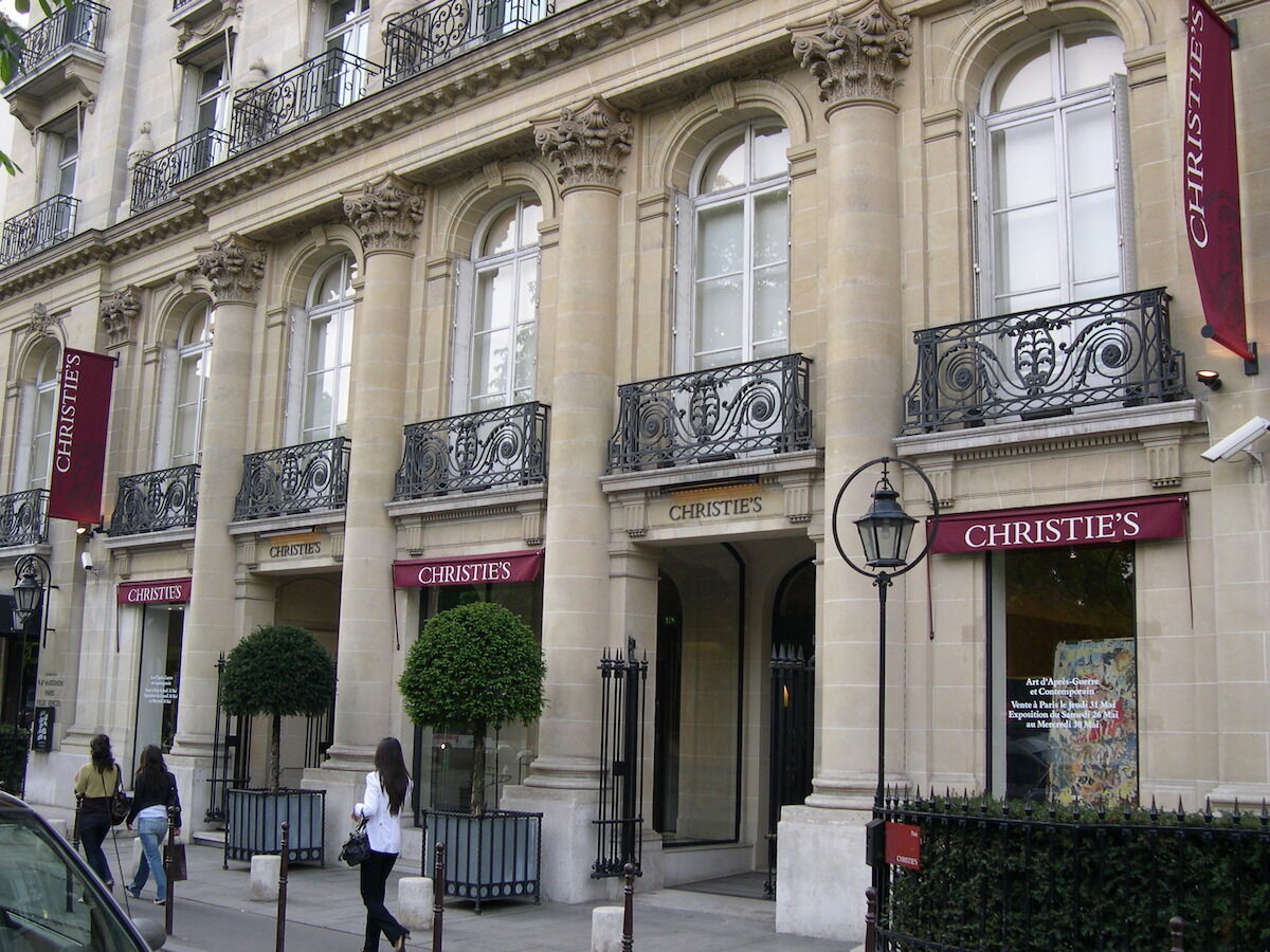 Christie's in Paris. Photo by Tilo 2007, via Wikimedia Commons.