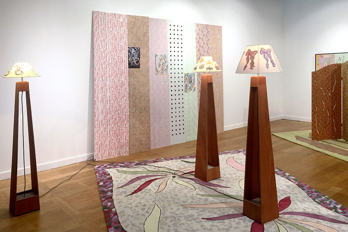 Installation view of Andrew Kreps Gallery's booth at FIAC, 2015. Photo courtesy of Andrew Kreps Gallery.