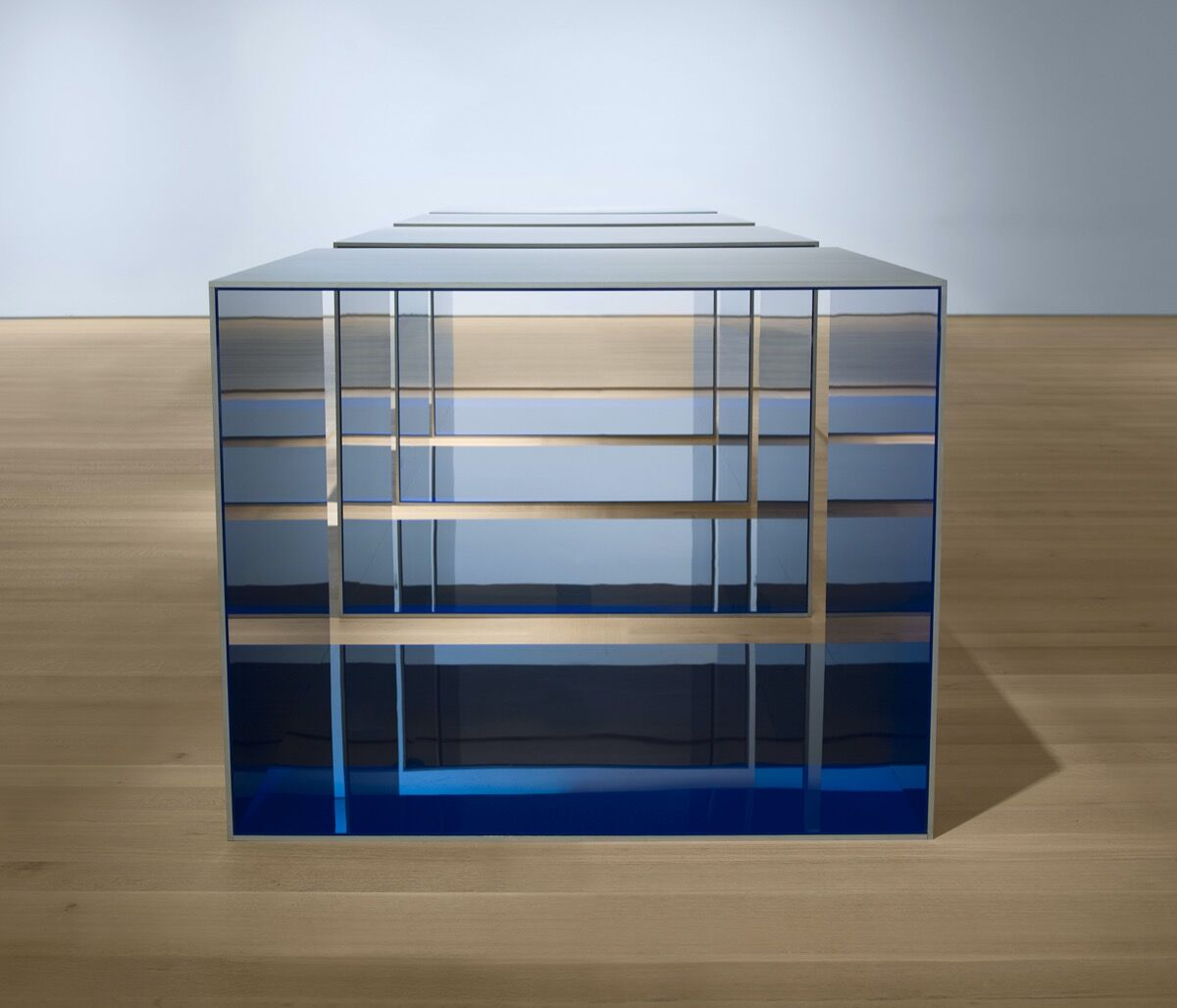 Donald Judd, Untitled, 1969. © 2020 Judd Foundation / Artists Rights Society (ARS), New York. Courtesy of Saint Louis Art Museum, and The Museum of Modern Art, New York.