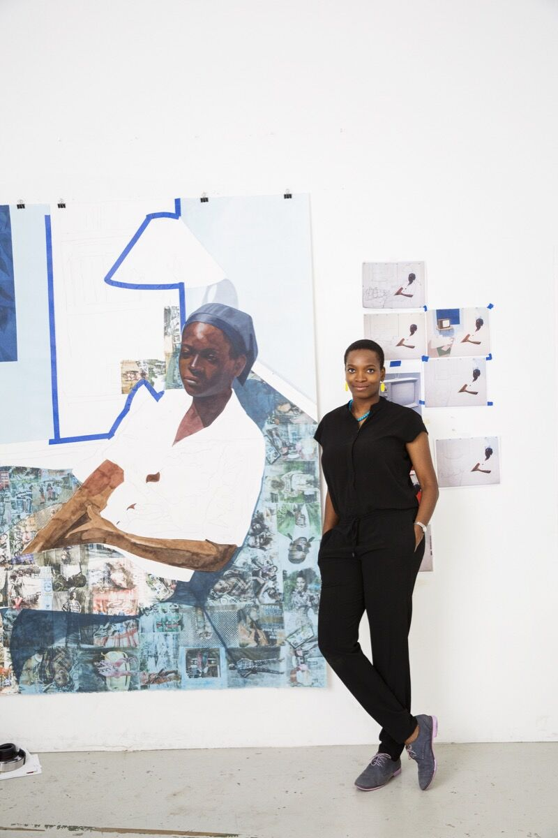 Njideka Akunyili Crosby Paints Captivating Visions of Cosmopolitan