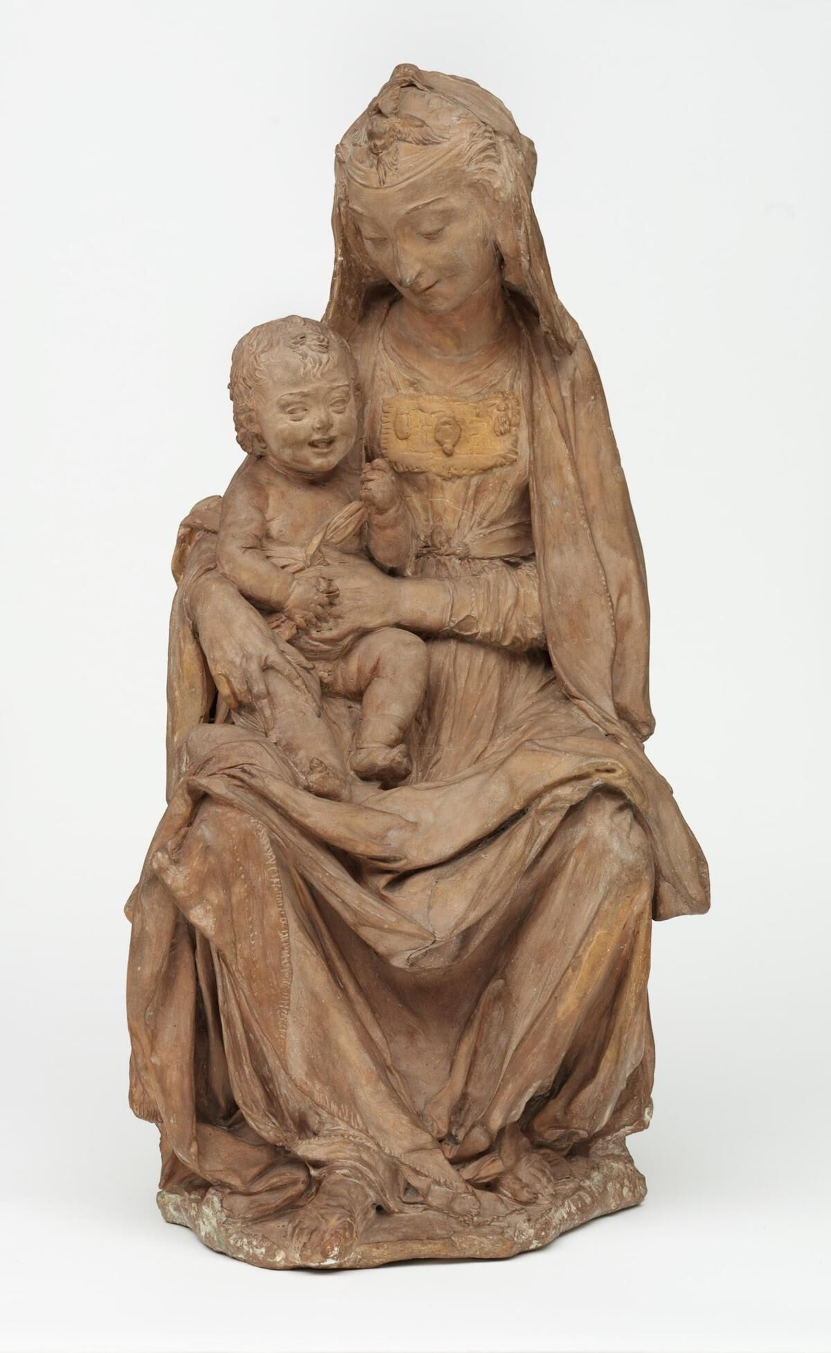 The Virgin with the laughing Child, c. 1465, attributed to Antonio Rossellino. Image © Victoria and Albert Museum, London.