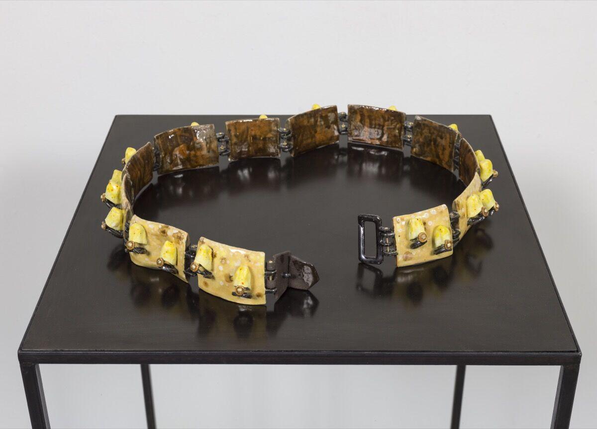 Julia Phillips, Exoticizer, Worn Out (Josephine Baker's Belt), 2017. Courtesy of the artist.