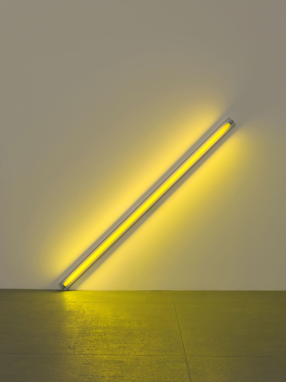 Dan Flavin, the diagonal of May 25, 1963 (to Constantin Brancusi), 1963. © Stephen Flavin/Artists Rights Society (ARS), New York. Photo by Billy Jim, New York. Courtesy of Dia Art Foundation, New York.