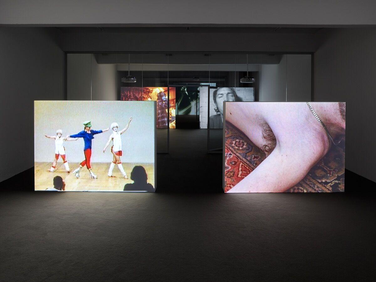 "Installation view of ""GENERATION LOSS,"" at JSC Düsseldorf. Photo  Simon Vogel, Cologne."