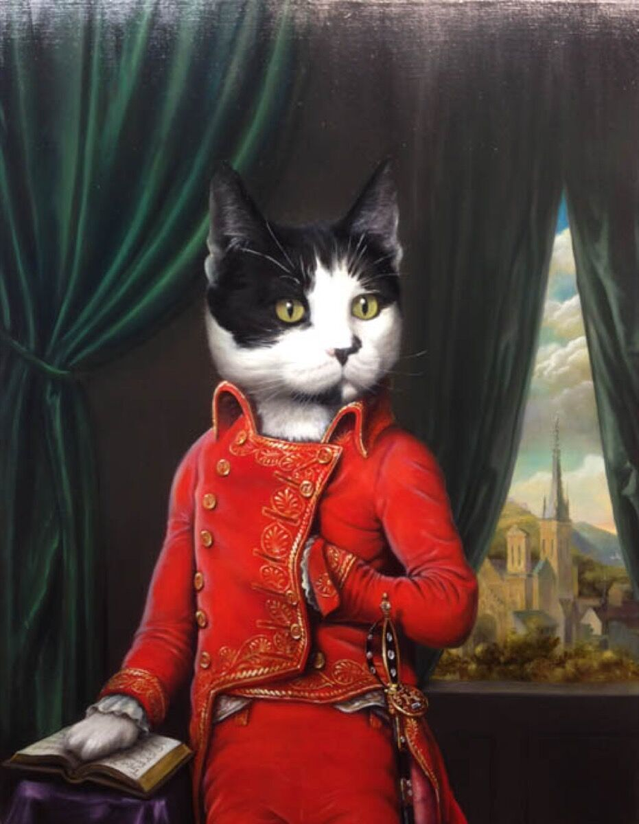 Animal And People Porn inside the weird and wonderful world of pet portraits - artsy