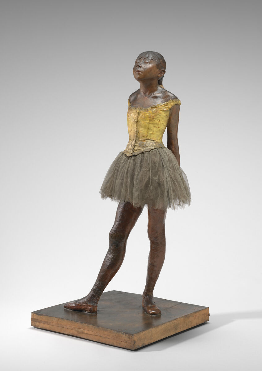 Edgar Degas, Little Dancer Aged Fourteen, 1878-1881. Courtesy of the National Gallery of Art.