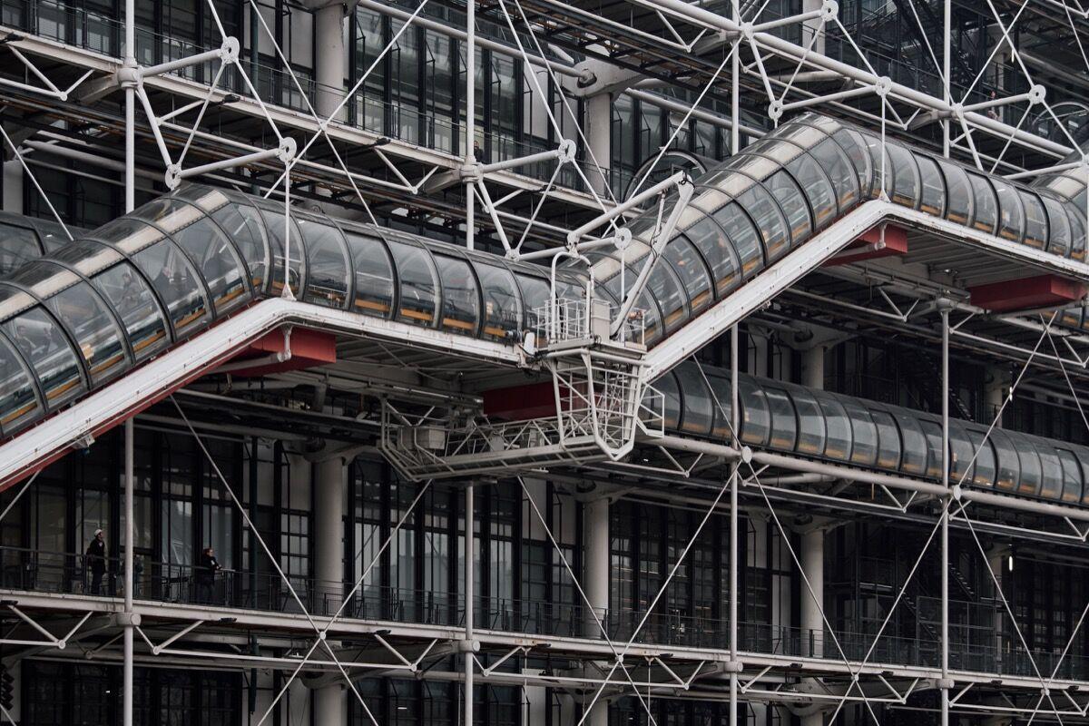 Centre Pompidou. Photo by August Fischer, via Flickr.