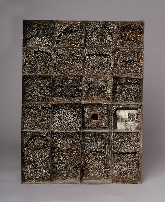 La Wilson, Burn Out, 1980. Courtesy of the Akron Art Museum.