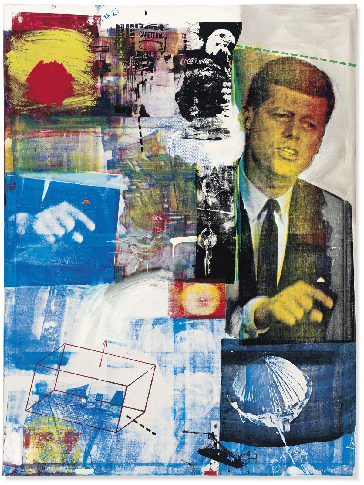 Robert Rauschenberg, Buffalo II,  1964. Courtesy of Christie's.