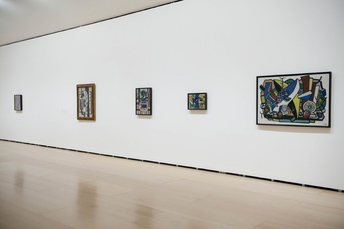 "Installation view of ""The Collection of Hermann and Margrit Rupf"" at Guggenheim Bilbao, November 11, 2016 - April 23, 2017. Photo courtesy of Guggenheim Bilbao."