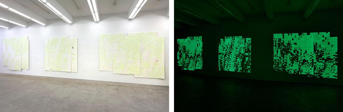 Instllation view of Agnes Lux at Martos Gallery, 2016. Photos courtesy of Martos Gallery.