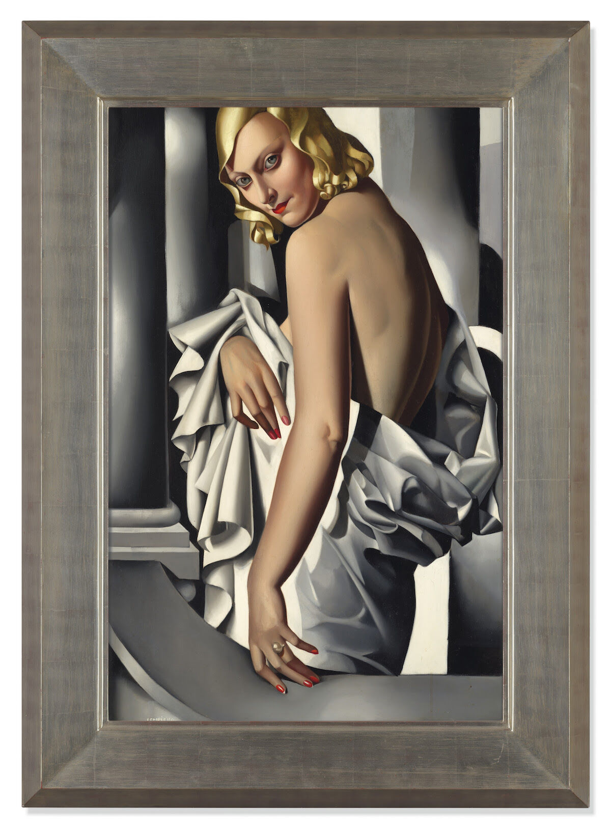 Tamara de Lempicka, Portrait de Marjorie Ferry, 1932. Sold for £16.2 million ($21.1 million). Courtesy Christie's Images Ltd.