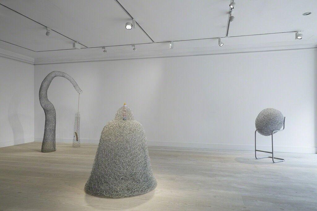 "Installation view of""Jane McAdam Freud: Mother Mould"" courtesy Gazelli Art House."