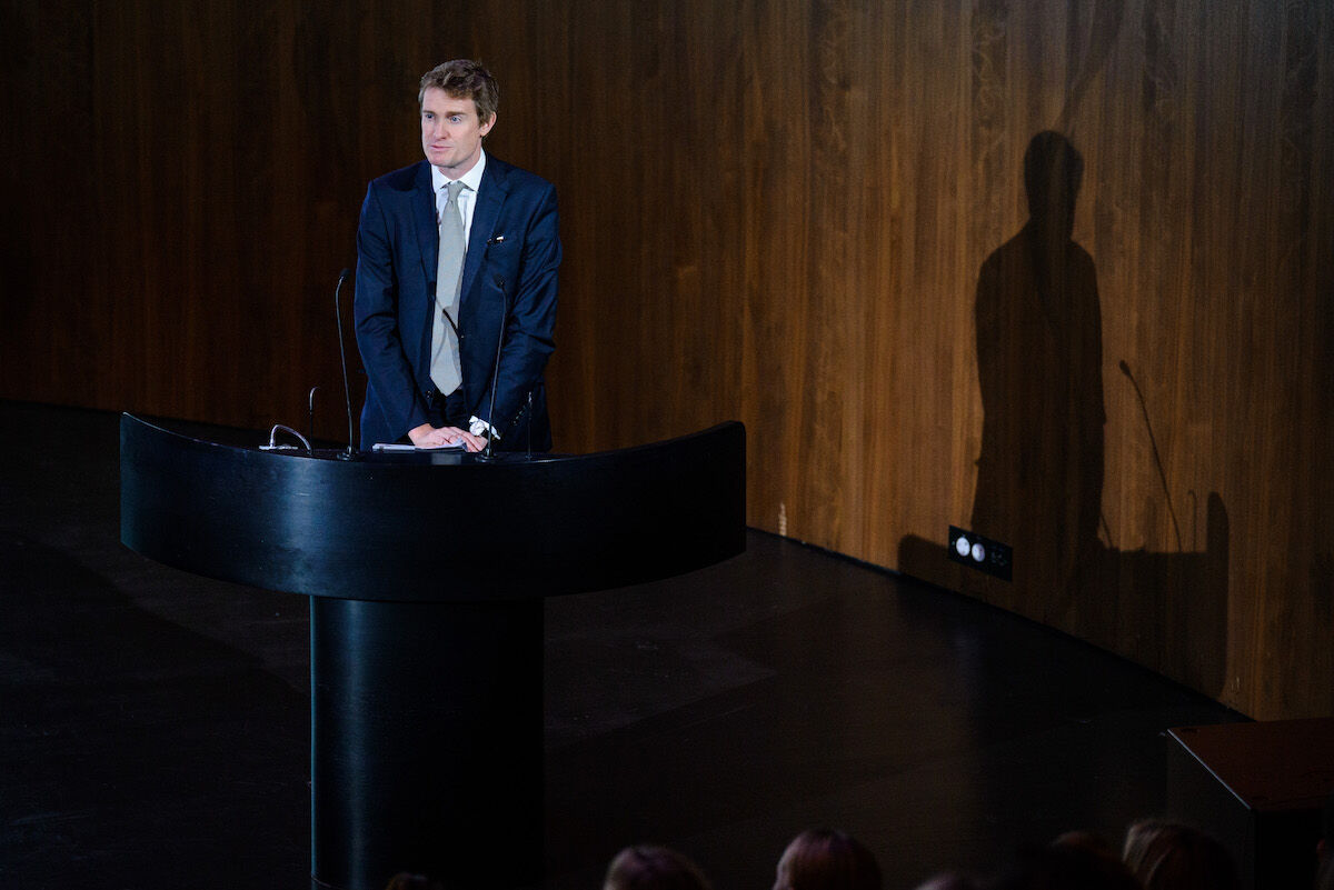Victoria and Albert Museum director Tristram Hunt. Photo by Joe Maher/Getty Images.