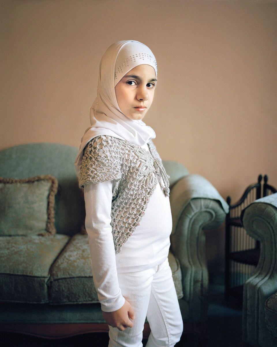 Rania Matar, Maryam 9, Beirut, Lebanon, 2011. Courtesy of the artist, Robert Klein Gallery, Boston, and Galerie Tanit, Beirut.