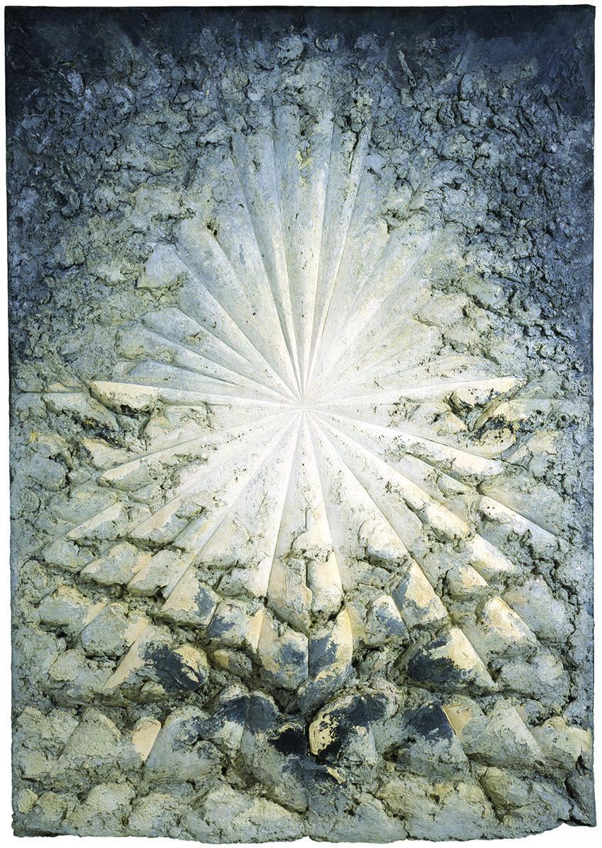 Jay DeFeo, The Rose, 1958-66. © 2018 The Jay DeFeo Foundation/Artists Rights Society (ARS), New York.