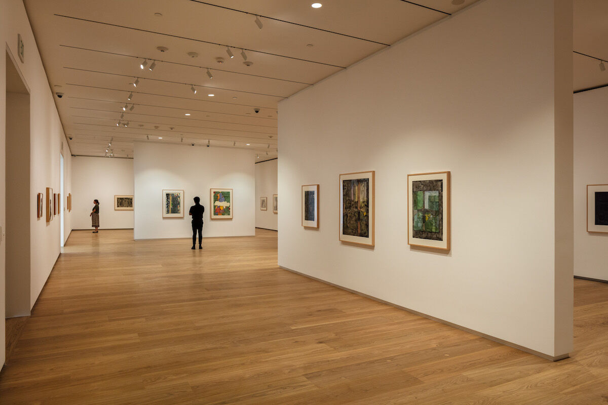 The Brown Foundation Gallery at the Menil Drawing Institue. Photo by Richard Barnes, courtesy the Menil Collection, Houston.