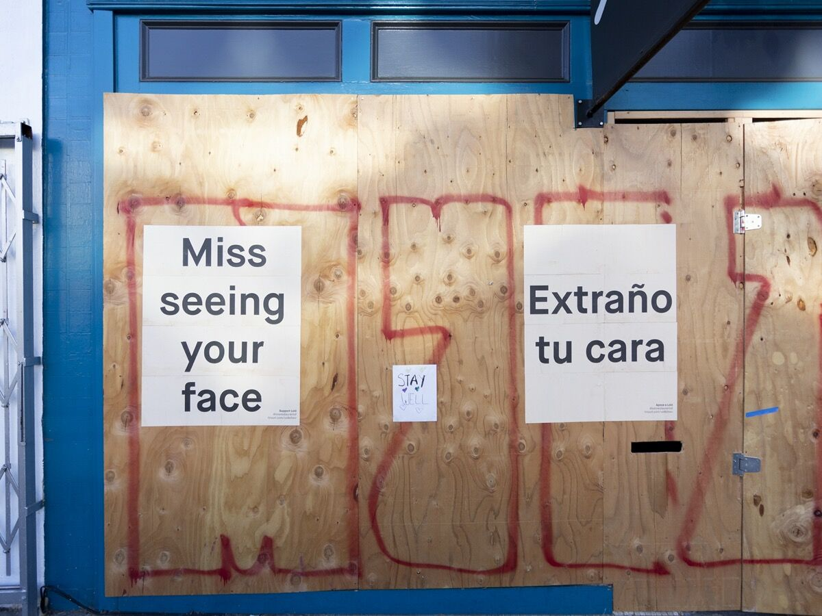 """Marcela Pardo Ariza, Juan Carlos Rodriguez Rivera, and Felipe Garcia Jr., Loló from """"This Is Weird Without You,"""" 2020. Courtesy of the artists."""