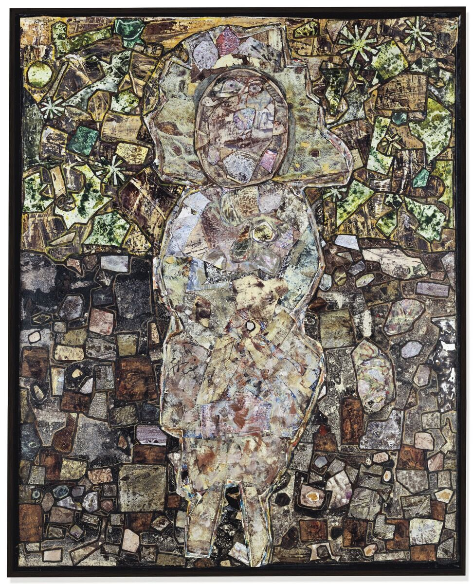 Jean Dubuffet, Madame au Jardin, 1956. Courtesy of Christie's.