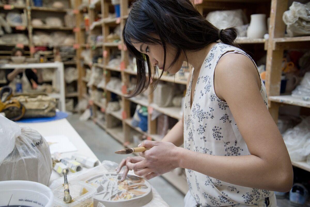 Ceramics Open Studio at Lillstreet Art Center, Chicago, IL. Courtesy of Lillstreet Art Center.