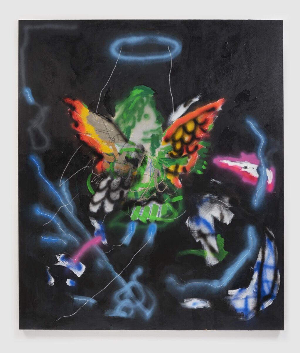 Robert Nava, Night Storm Angel, 2021. © Robert Nava. Courtesy of the artist and Vito Schnabel Gallery.