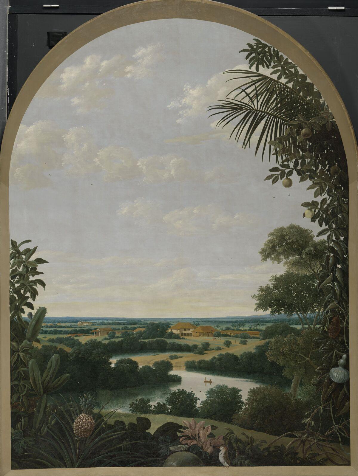 Frans Jansz Post, Landscape in Brazil. 1652. Courtesy of the Rijksmuseum.