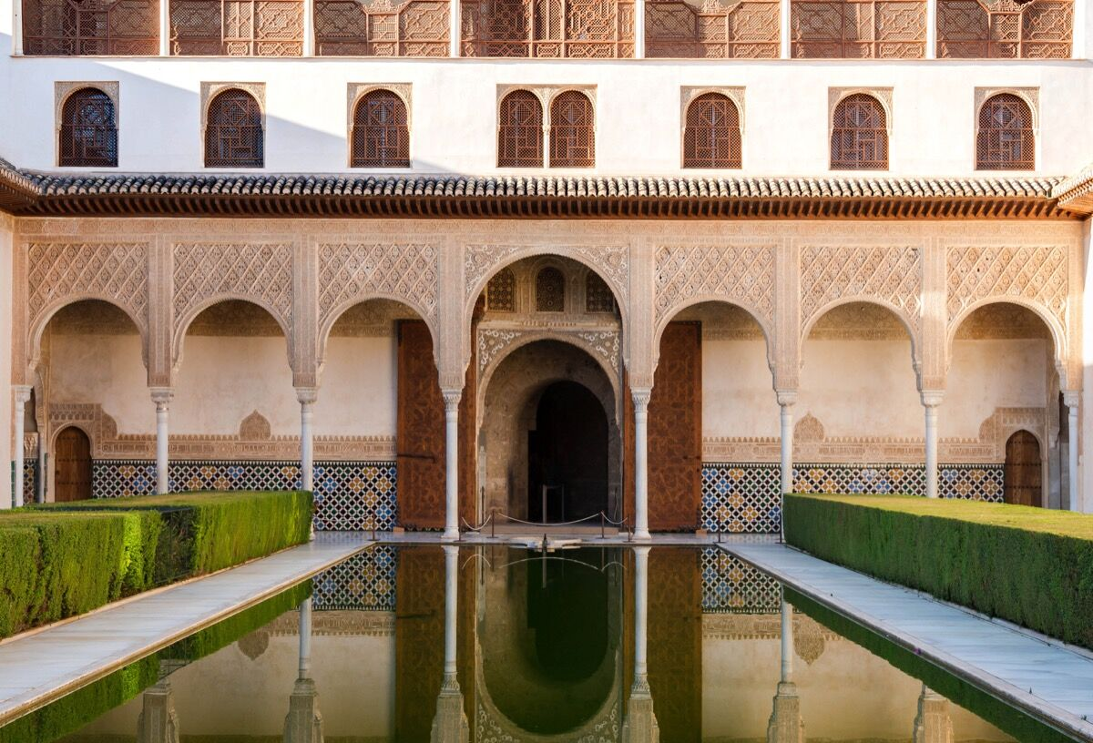 Alhambra, Spain. Photo via Wikimedia Commons.