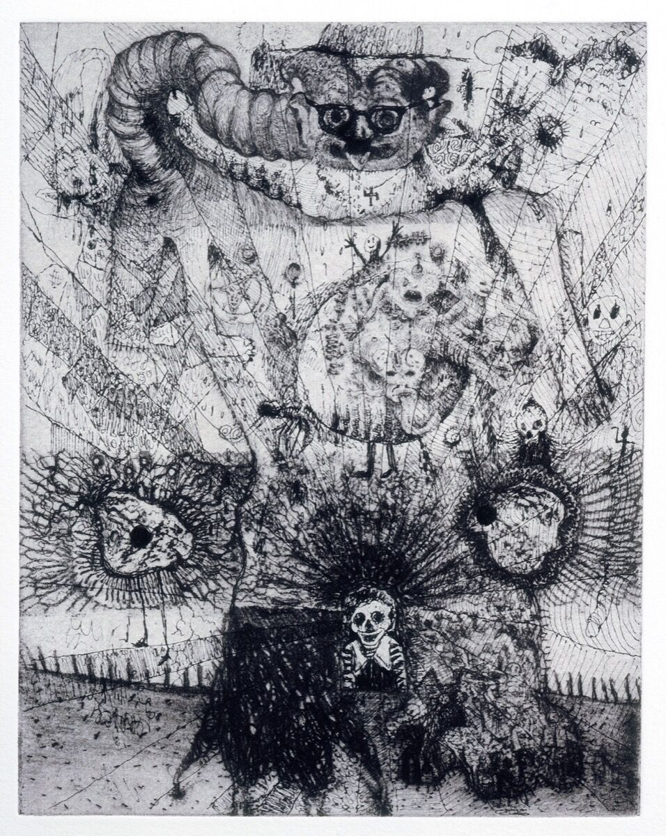 Jake and Dinos Chapman, Exquisite Corpse (Rotring Club) I, 2000. © Jake and Dinos Chapman. Courtesy of the artists.