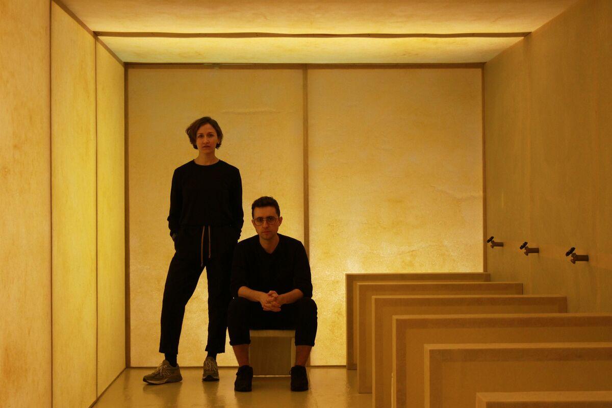 Portrait of Kristen Wentrcek and Andrew Zebulon. Courtesy of the designers.