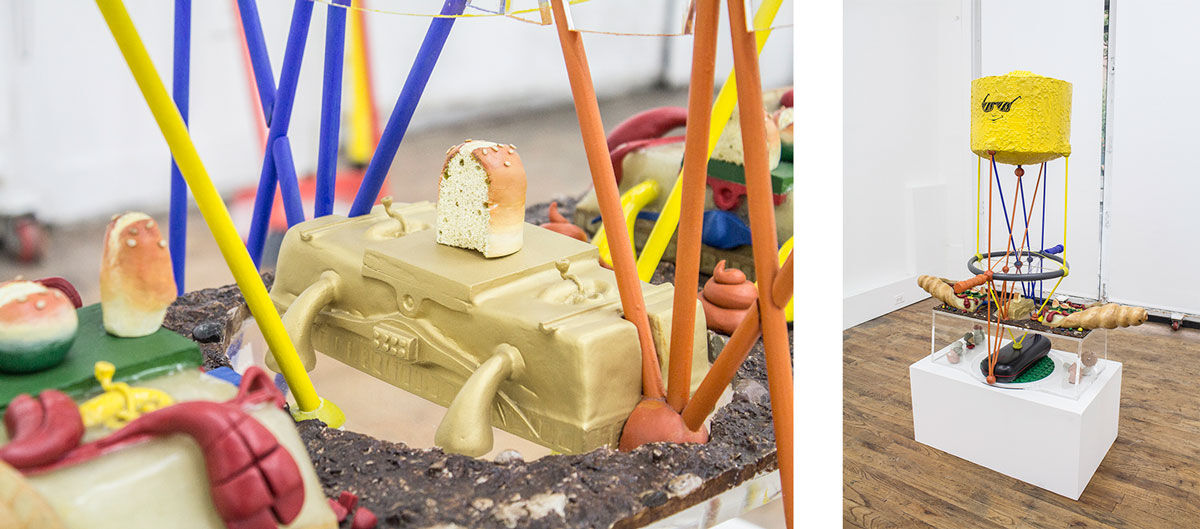 Benjamin Reiss, Worm and Magnifier, 2014. Images courtesy of the artist and 247365, New York.