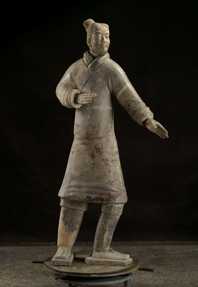 Standing Archer, Qin dynasty, 221-206 BC. Courtesy of the Cincinnati Art Museum.