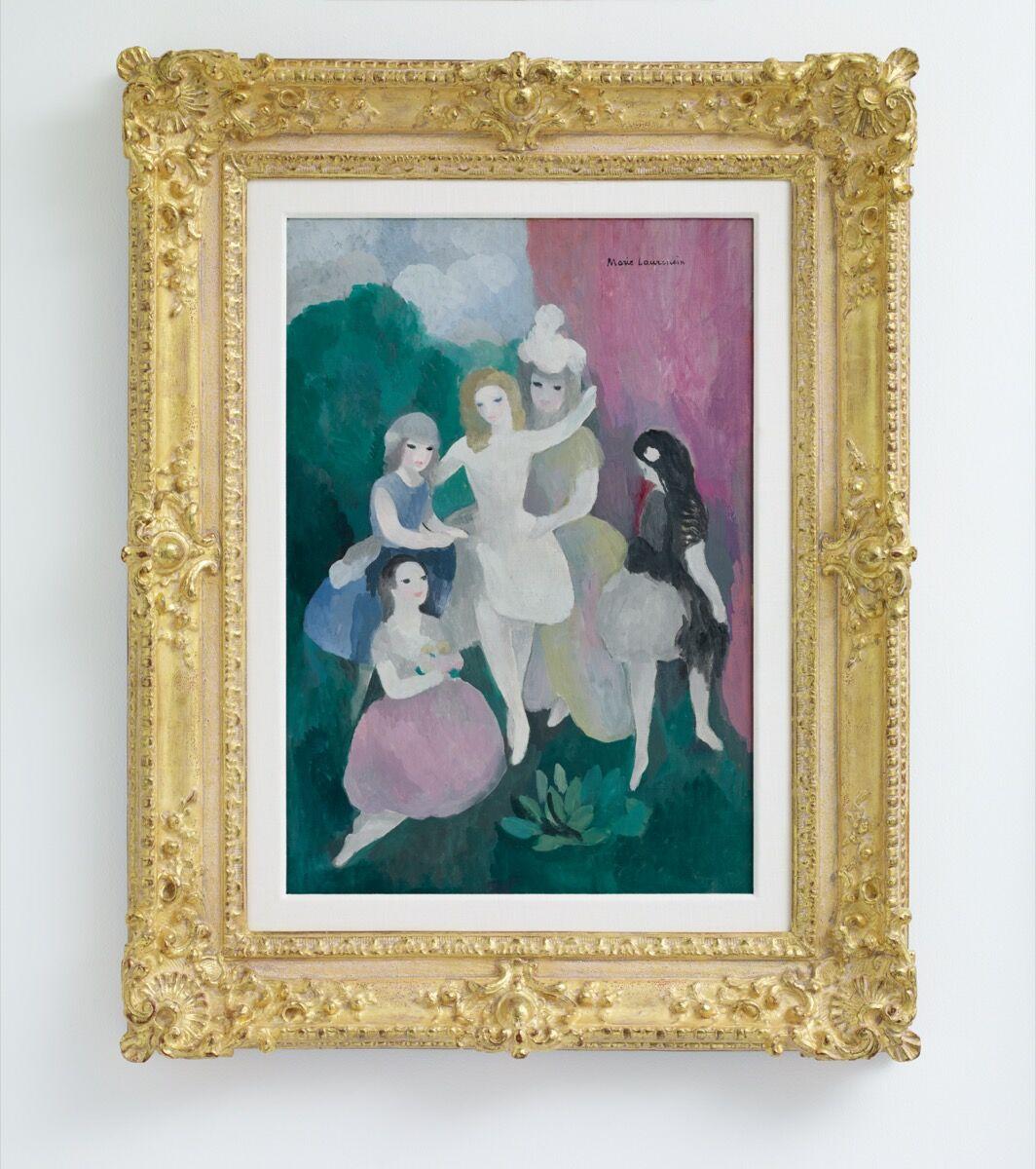 Marie Laurencin, Jeune Danseuses, c. 1925. © 2020 Artists Rights Society (ARS), New York / ADAGP, Paris. Courtesy of Nahmad Projects.