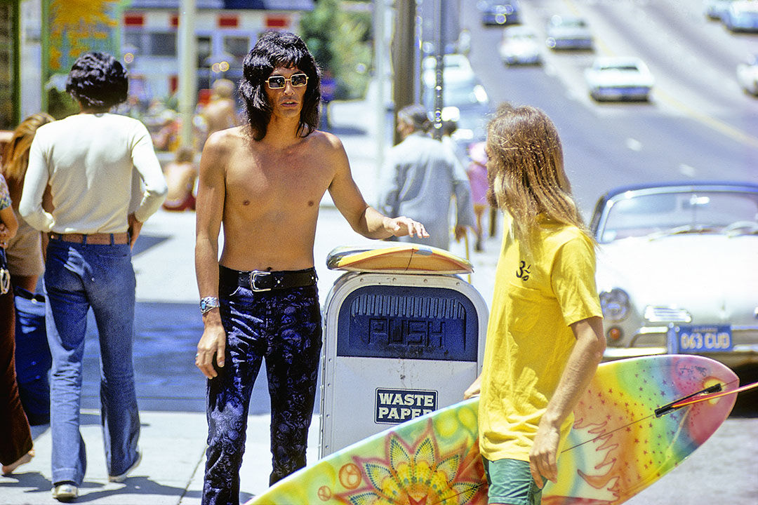 Jeff Divine, PCH, Laguna Beach, Calif., 1971. Courtesy of the artist.