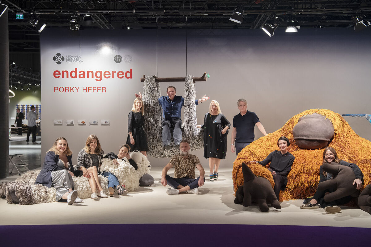 The Leonardo DiCaprio Foundation presents ENDANGERED by Porky Hefer