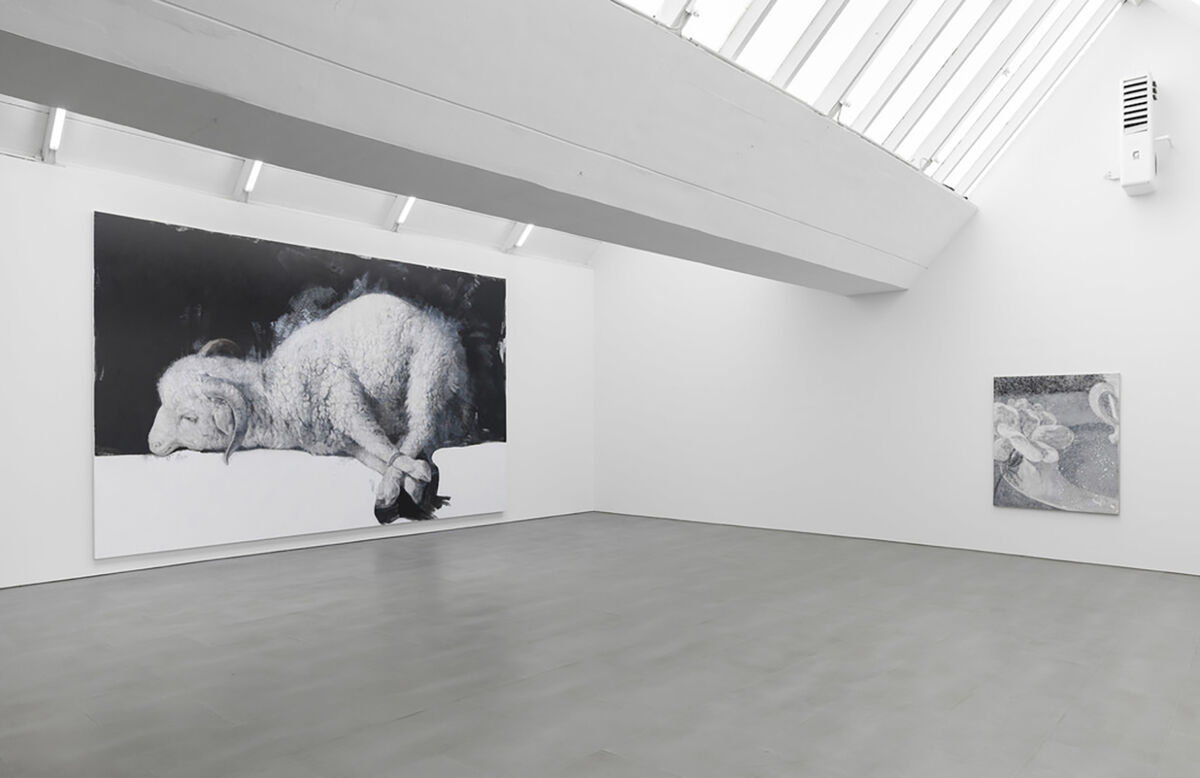 Jelena Bulajić, installaton view at carlier | gebauer, 2020. Courtesy of carlier | gebauer, Kreuzberg.