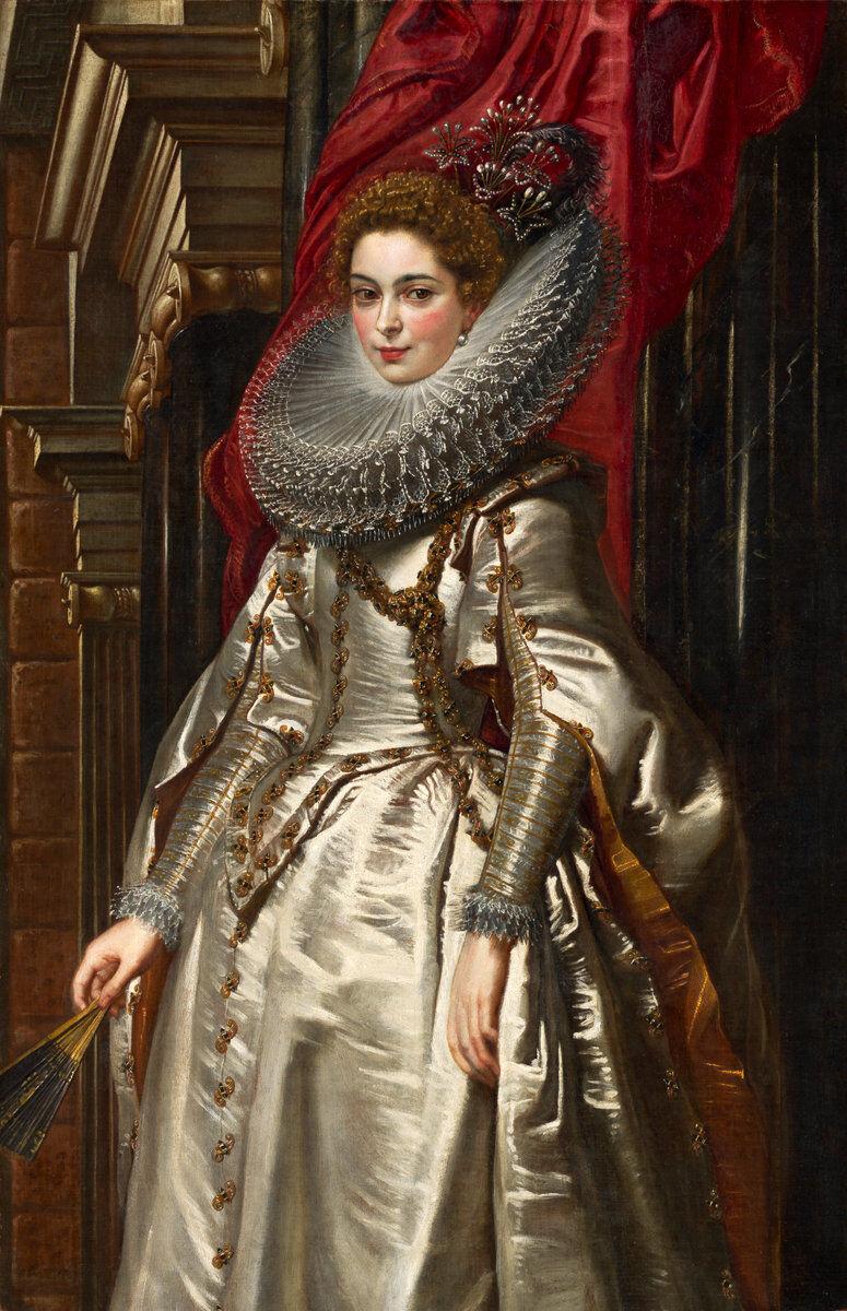 Sir Peter Paul Rubens, Marchesa Brigida Spinola Doria, 1606. Courtesy of the National Gallery of Art.