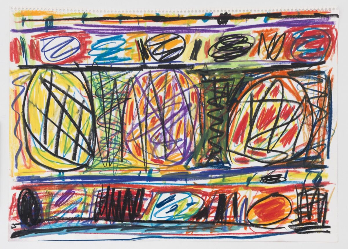 Stanley Whitney, Untitled, 1990. © Stanley Whitney. Courtesy of Lisson Gallery.