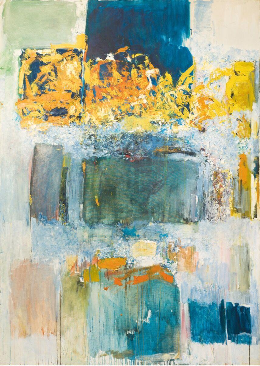 Joan Mitchell, La ligne de la rupture, 1970–71. © Estate of Joan Mitchell.