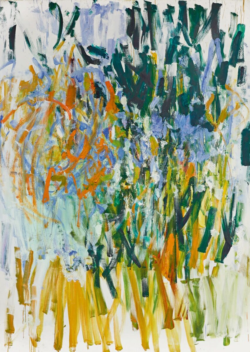 Joan Mitchell, Straw, 1976. Courtesy of Sotheby's.